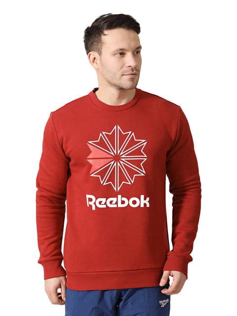 Свитшот красный Reebok 4242306