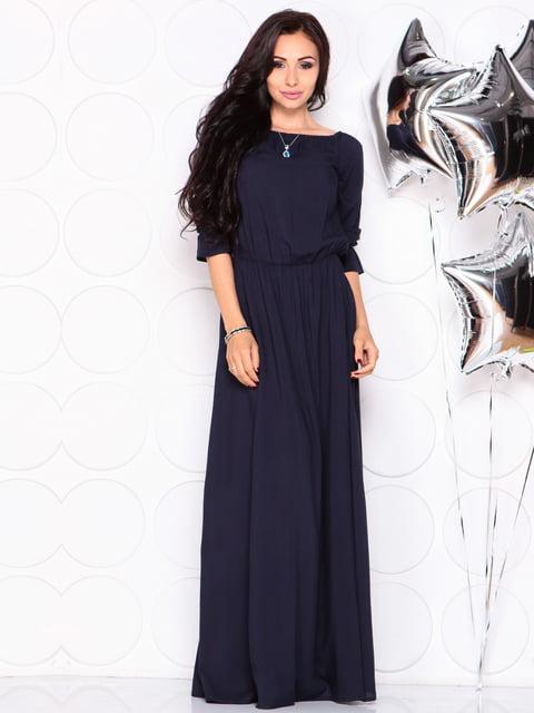 Сукня темно-синя Laura Bettini 4331723