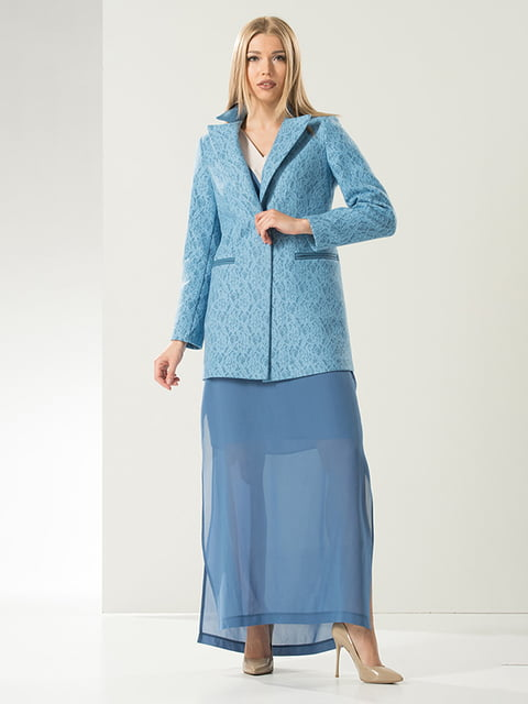 Жакет блакитний Lesya 4068308