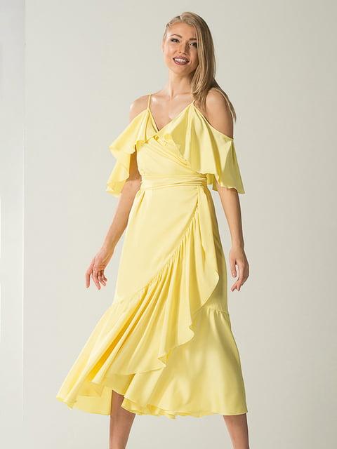 Платье желтое Lesya 4068394