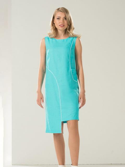 Платье голубое Lesya 4224129