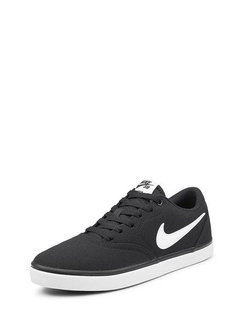 Кеды черные Sb Check Solarsoft Canvas Nike 4339444