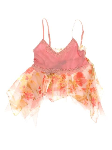 Топ рожевий з принтом CHELA 3168411