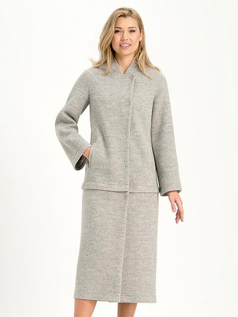 Пальто серое Lesya 4068317