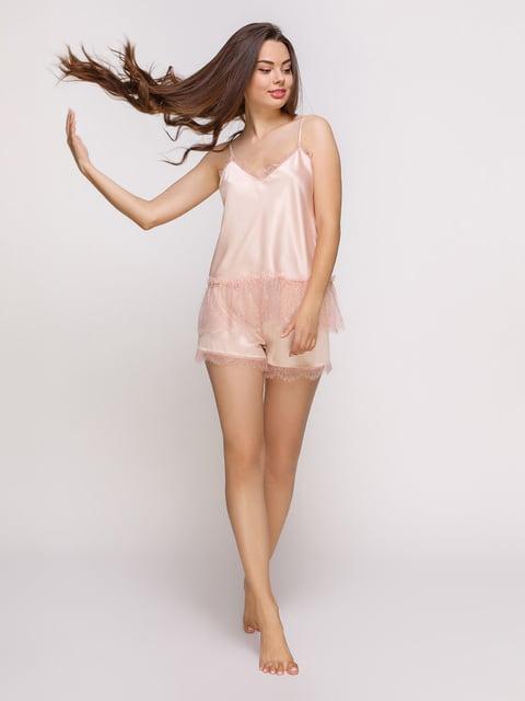 Майка кремового цвета пижамная Lapin 4336503