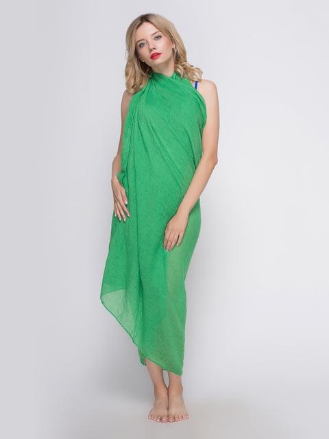 Шаль яскраво-зелена Traum 3256473