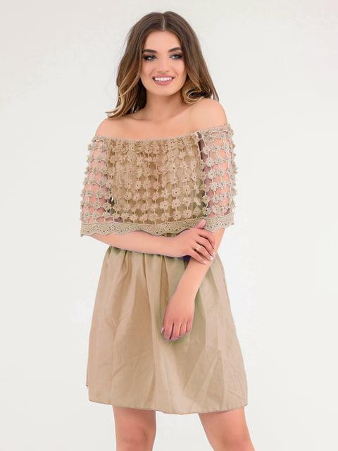 Платье коричневое Magnet 4271966