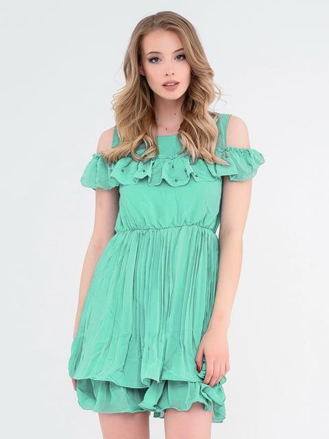 Платье мятного цвета Magnet 4272047