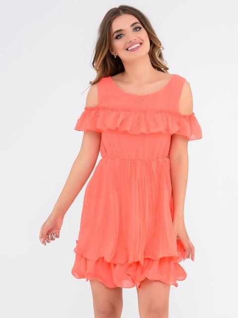Платье оранжевое Magnet 4272048