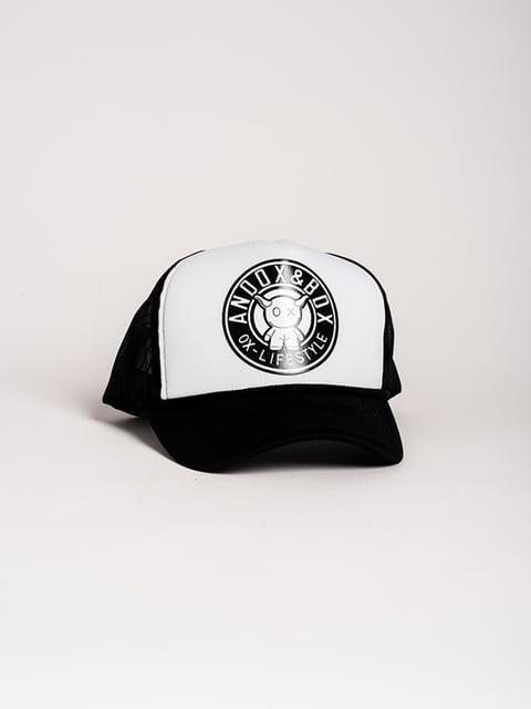 Бейсболка чорно-біла Magnet 4298600