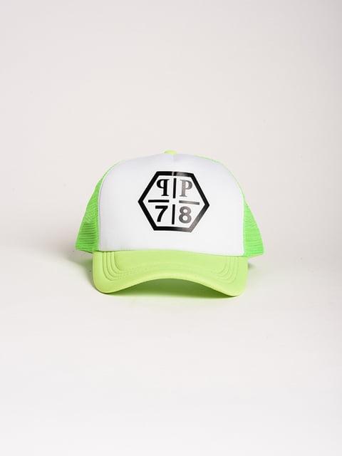 Бейсболка біло-салатова Magnet 4298603