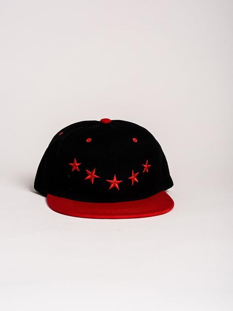 Бейсболка чорно-червона Magnet 4298634