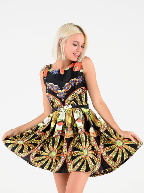 Платье в принт Magnet 4342644
