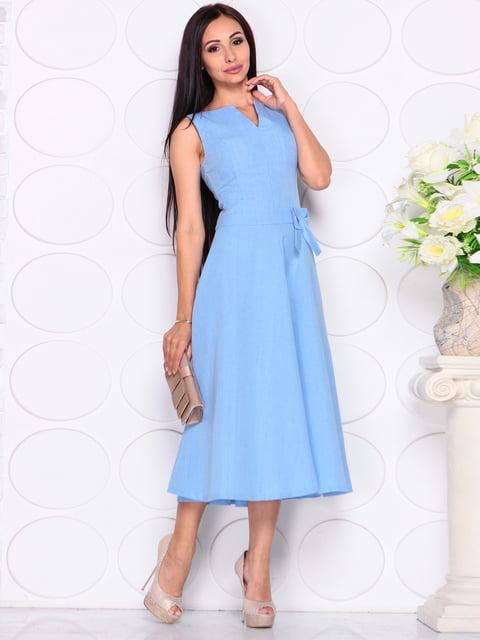 Платье голубое Laura Bettini 4343314