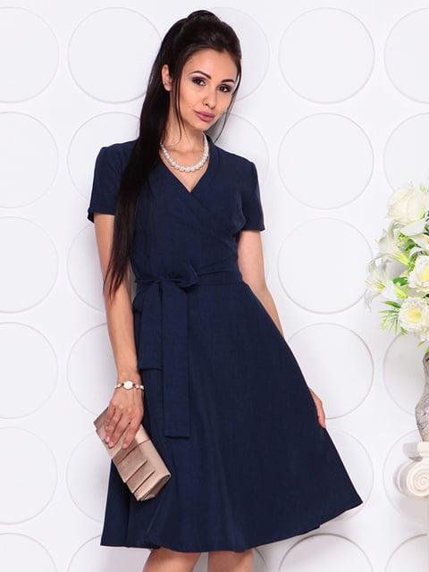 Платье темно-синее Laura Bettini 4343319