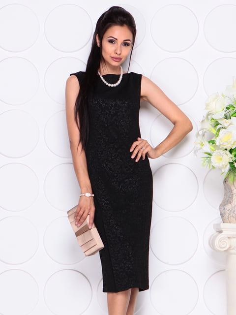 Платье черное Laura Bettini 4343316
