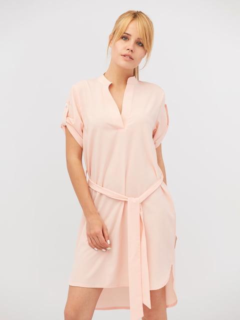 Платье персикового цвета CRISS 4345846