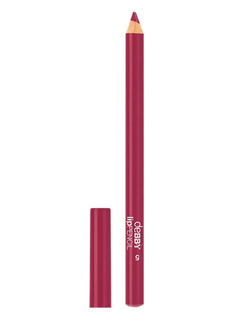 Олівець для губ водостійкий Long Lasting - №5 (1,2 г) Debby 4346896