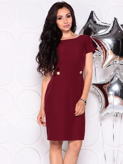 Сукня сливового кольору Laura Bettini 4347178