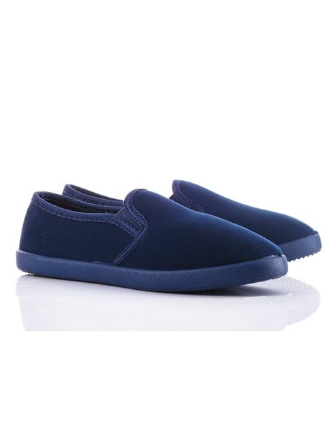Слипоны синие Violeta 4348403