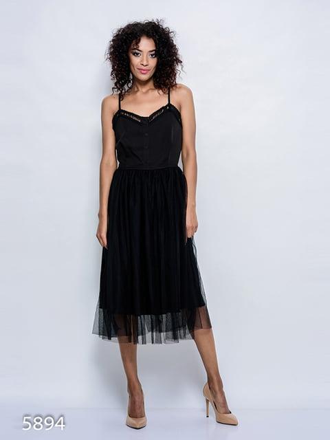 Сукня чорна Magnet 4352349