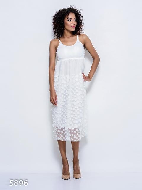 Платье белое Magnet 4352352