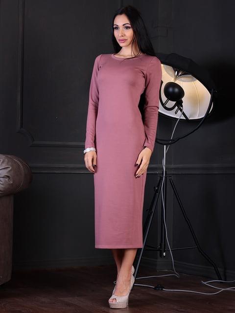 Платье цвета розовой дымки Laura Bettini 4352820