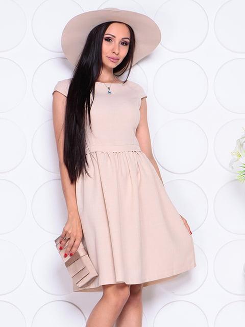 Сукня бежева Laura Bettini 4353808
