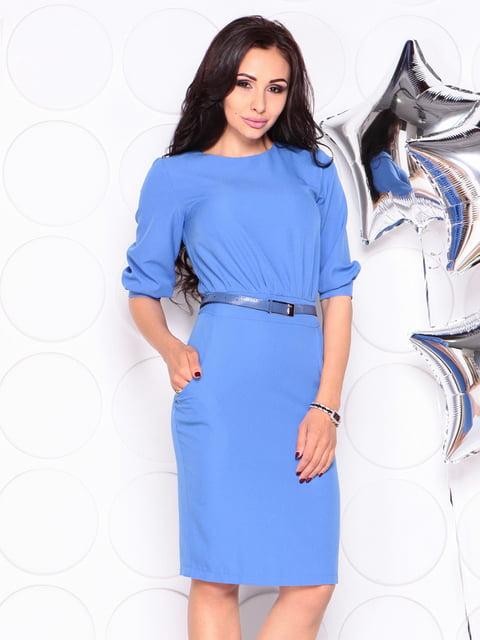 Платье голубое Laura Bettini 4353950