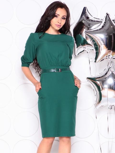 Платье темно-изумрудное Laura Bettini 4353955