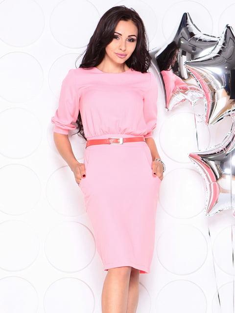 Платье розовое Laura Bettini 4353960