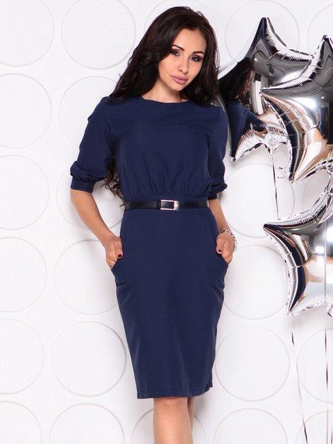 Платье темно-синее Laura Bettini 4353965