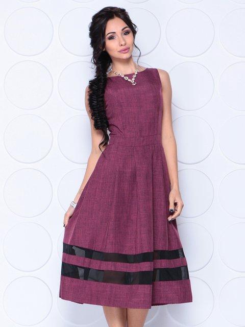 Платье сливовое Dioni 4354542