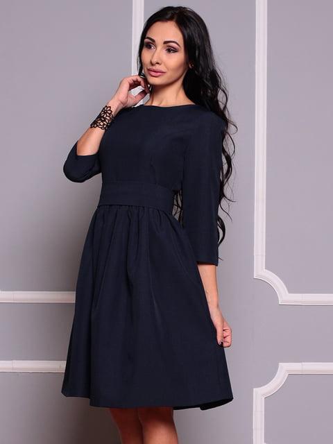 Платье черно-синего цвета Dioni 4354635