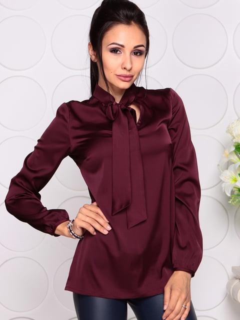 Блуза сливового кольору Maurini 4354867
