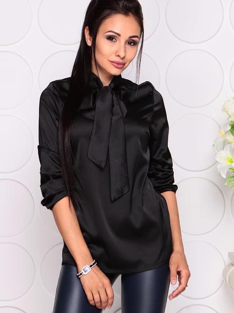 Блуза черная Maurini 4354875