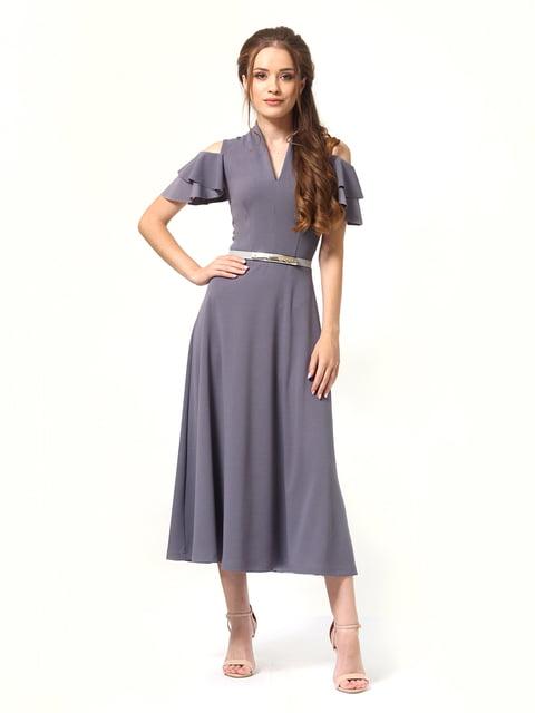 Платье графитового цвета Lada Lucci 4363444