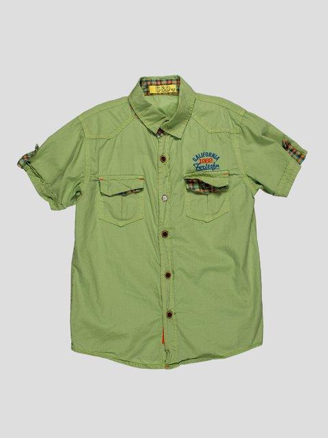Сорочка оливкового кольору S&D 4349915