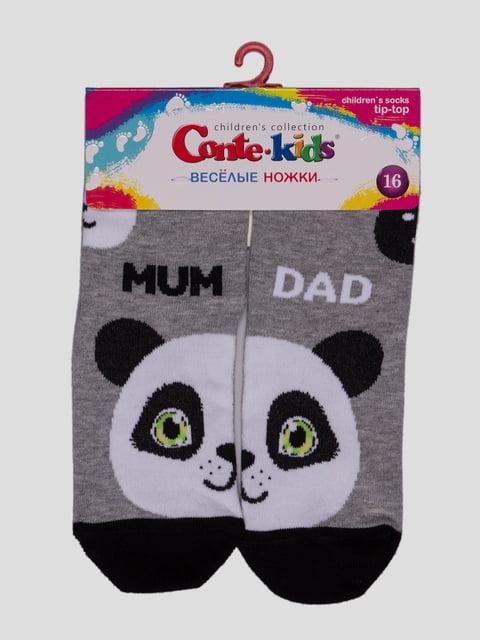 Шкарпетки сірі Conte Kids 3750390