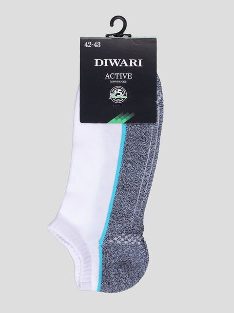 Шкарпетки двоколірні DIWARI 4366575