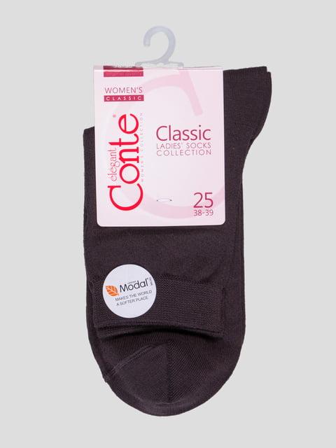 Носки шоколадного цвета Conte 4366542