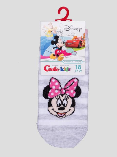 Носки светло-серые с рисунком Conte Kids 4366804