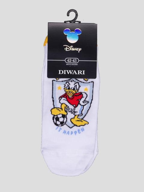 Шкарпетки білі з малюнком Conte 4366590