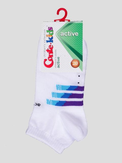 Шкарпетки білі Conte Kids 4366748