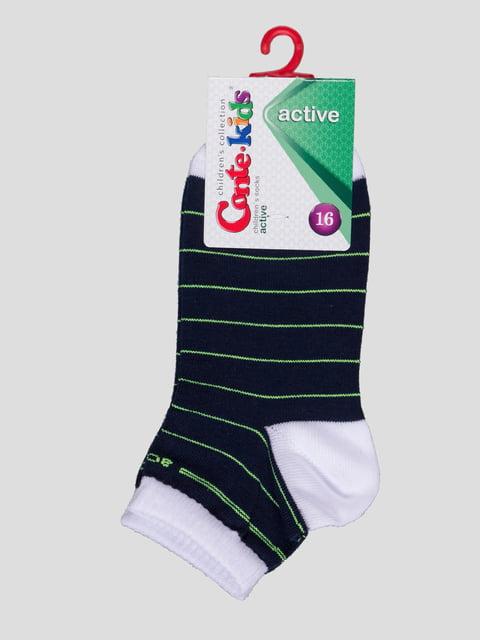 Шкарпетки в смужку Conte Kids 4366743