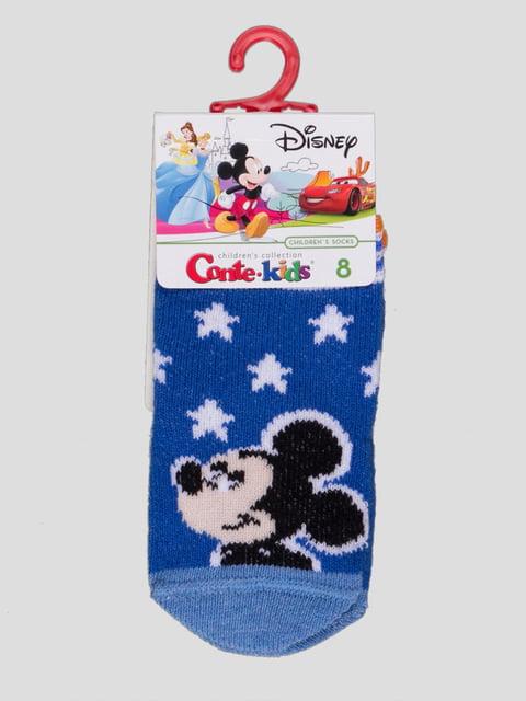 Носки синие с рисунком Conte Kids 4366815