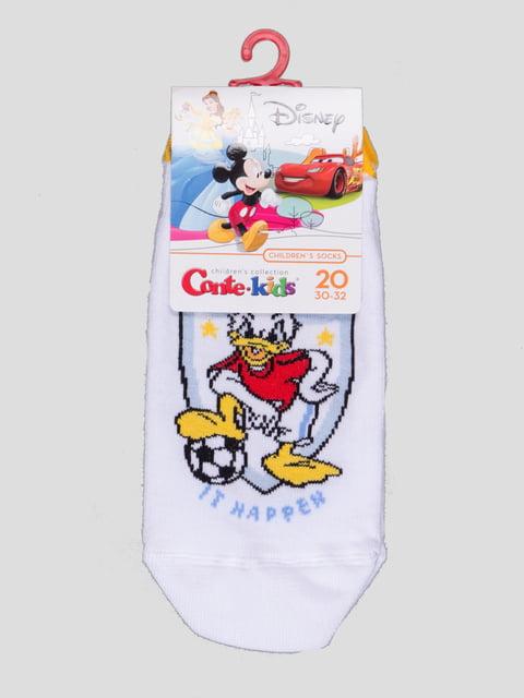 Носки белые с рисунком Conte Kids 4366829