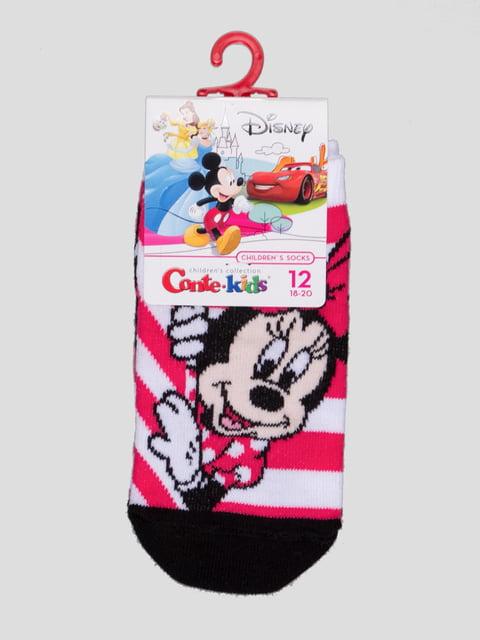 Носки малиновые с рисунком Conte Kids 4366800