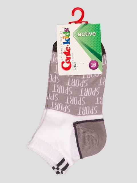 Шкарпетки двоколірні з малюнками Conte Kids 4366740