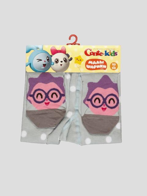 Колготки светло-голубые в горох Conte Kids 3750229